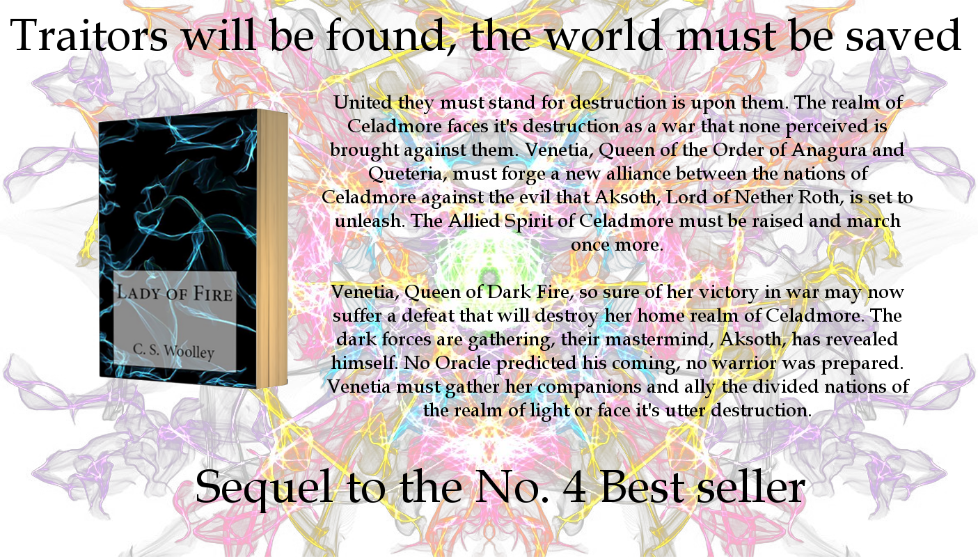 Order Lady Of Fire, Book 5 In The Chronicles Of Celadmore Series, By Cs  Woolley For £1199 With Free Uk Delivery