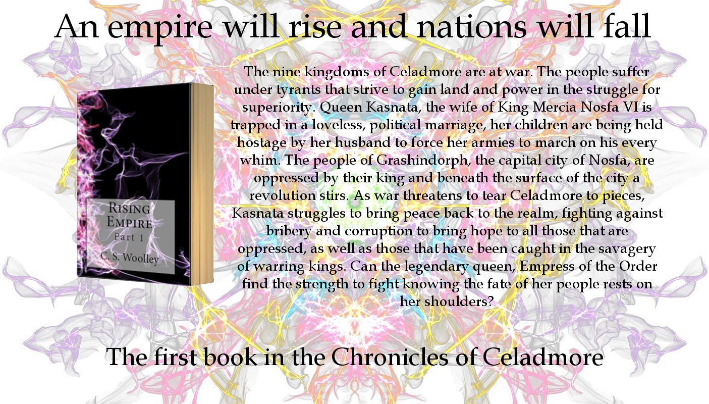 Order Rising Empire: Part 1, Book 1 In The Chronicles Of Celadmore Series,  By Cs Woolley For £1199 With Free Uk Delivery