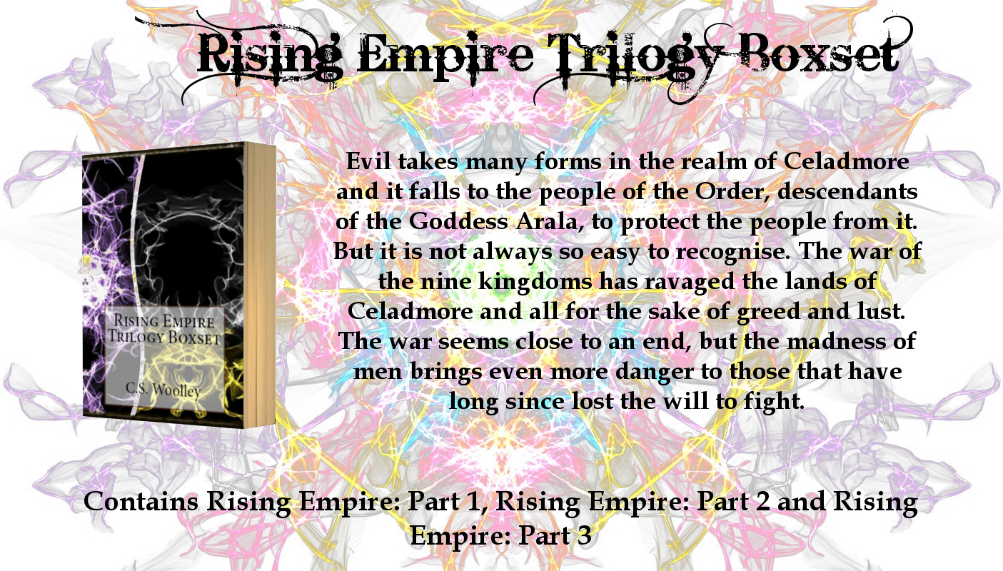 Order The Paperback Of The Rising Empire Trilogy By Cs Woolley For Just  £2199 In Paperback With Free Uk Delivery